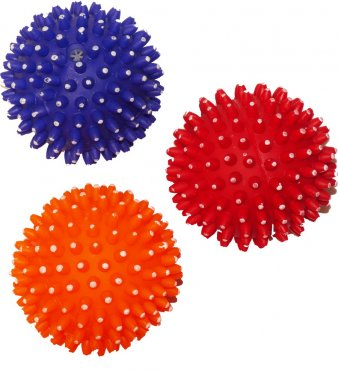 Igelball 7,5cm orange